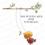 Stamping Bella - Cling Stamps - Bundle Girl On A Swing (EB994)