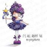 Stamping Bella - Cling Stamps - Oddball Sugar Plum Fairy (EB978)