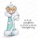 Stamping Bella - Cling Stamps - Oddball Snow Queen (EB979)