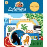 Echo Park - Cardstock Ephemera 33/Pkg - Zoo Adventure (CBZA128024)