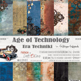 Craft O'Clock -Paper Collection Set 12x12 - Age of Technology (CC-ZD-AT-F7)