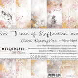 Craft O Clock - Paper Collection Set 8x8 18Pkg - Time Of Reflection (CC-ZS-TR-MM0)