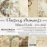 Craft O Clock - Paper Collection 8x8 18/Pkg - Fleeting Moments (CC-ZS-FM-MM0)