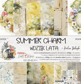 Craft O Clock - Paper Collection Set 12x12 6/Pkg - Summer Charm (CC-ZD-SC-F11)