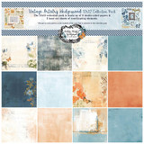 49 and Market - Scrapbooking Paper Pack 12x12 - Vintage Artistry Wedgewood (VAW33256)