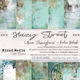 Craft O Clock - 8x8 Paper Collection 18/Pkg - Hazy Street (CC-ZS-HS-MM0)