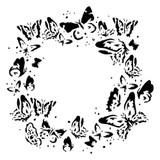 13 @rts -Stencil 6x6 - Sunrise - Wreath of Butterflies (ARTSU15)
