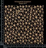 Scrapaholics - Laser Cut Chipboard - Galaxy Panel (S50862)