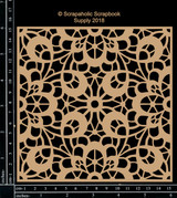 Scrapaholics - Laser Cut Chipboard - Lace Panel (S51258)