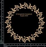 Scrapaholics - Laser Cut Chipboard - Berry Vine Frame (S52958)