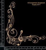 Scrapaholics - Laser Cut Chipboard - Music Corner (S50855)