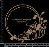 Scrapaholics - Laser Cut Chipboard - Pumpkin Frame (S53450)