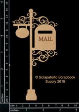 Scrapaholics - Laser Cut Chipboard - Vintage Mailbox (S52477)