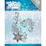 Find It Trading - Jeanine's Art - Metal Die - The Colours Of Winter - Winter Swirl (JAD10109)