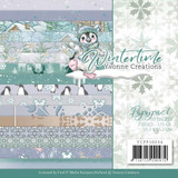 """Find It Trading - Yvonne Creations - Winter Time - Dbl Sided Paper Pack 6""""X6"""" 23/Pkg (CPP10034)"""