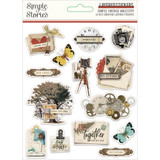 Simple Stories - Layered Stickers 14/Pkg - Simple Vintage Ancestry (SVA14127)