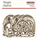 Simple Stories - Bits & Pieces Die-Cuts 32/Pkg - Simple Vintage Ancestry - Frames (SVA14123)