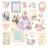 Prima Frank Garcia - With Love - Cardstock Die Cuts Ephemera 27/Pkg (96291)