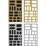 Tim Holtz Idealogy - Metallic Sticker Labels (TH93335)