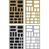 Tim Holtz Idealogy - Metallic Sticker Labels (TH93335)