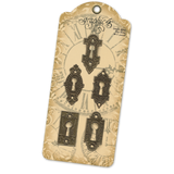 Graphic 45 - Ornate Metal Key Holes (G4500546)