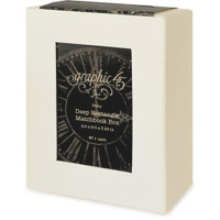 Graphic 45 Staples - Deep Rectangle Matchbook Box - 8.5 x 6.25 - Ivory (G4501520)