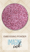 Blue Fern Studios Imagine Ink Embossing Powder - Pink Peppermint (805882)