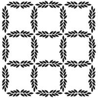 Leaf Grid Crafters Workshop Julie Balzer Leaf Grid 6x6 Stencil (236282)