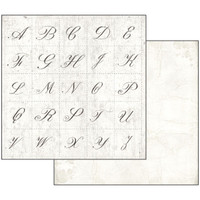 Stamperia - Scrapbooking 12 x 12 Collection Pack - Letters & Flowers