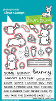 Lawn Fawn - Coordinating Stamp (LF1587) & Die Set (LF1588) Bundle - Some Bunny (LF1588)