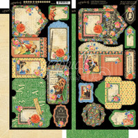 Little Women - Graphic 45 - Cardstock Die-Cuts