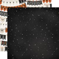 Carta Bella - Double-Sided Cardstock 12x12 - Halloween Market - Night Sky (CBHM121 6)