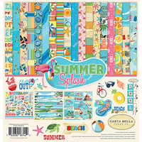 Carta Bella - Collection Kit 12x12 - Summer Splash (CBSPL816