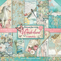 Stamperia - Wonderland - Scrapbooking 12 x 12 Collection Pack SBBL38
