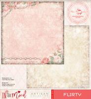 Blue Fern Studios Scrapbooking Paper - In the Mood - Flirty (842382)