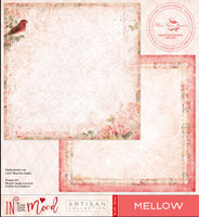 Blue Fern Studios Scrapbooking Paper - In the Mood - Mellow (842887)