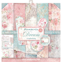 Stamperia - Double sided 12x12 Paper Pack- Dream