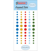 Carta Bella - Adhesive Enamel Dots - Passport (CBPA8428)