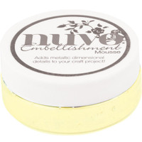 Nuvo - Embellishment Mousse - Custard Cream (NEM 827)