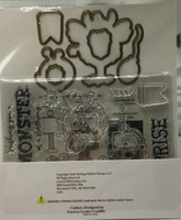 Little Darling Rubber Stamps - Monster Mash - Stamp & Die Set (TLC148)