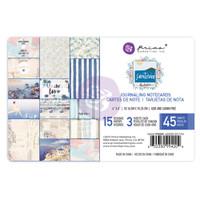 "Prima - Santorini Frank Garcia - Journaling Note Cards Pad 4""X6"" (994204)"