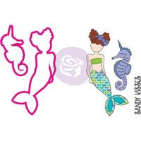 Prima Julie Nutting Stamp & Die Set - Mermaid Kisses - Kaliani Merbaby