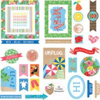 Photoplay - Aloha - Cardstock Die-Cuts 34/Pkg