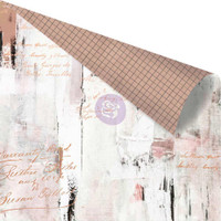 Texture Lover - Prima - Amelia Rose - 8 sheets Double sided 12x12 Paper w/Foil Accents