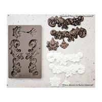 Prima Re-Design Iron Orchid Art Decor Moulds - Groeneville Crest (632380)
