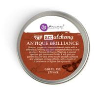Prima Finnabair Art Alchemy - Metallique Wax - Red Amber Wax (964313)