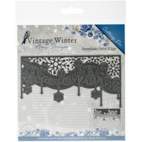 Find It Trading - Amy Design - The Feeling of Christmas -Snowflake Swirl Edge Die