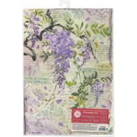 Stamperia - Wisteria - Decoupage Rice Paper 8.25 x 11.5 DFSA4227