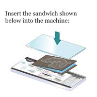 Sizzix 3D Impresslits Embossing Folder By Tim Holtz - Mini Scallop
