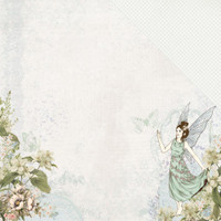 Kaisercraft - 12x12 Double-Sided Paper - Fairy Garden - Pixie Dust (P2494)